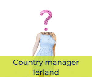 Country manager Ierland