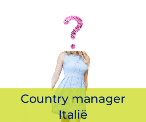 Country manager Italië
