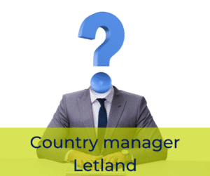 Country manager Letland