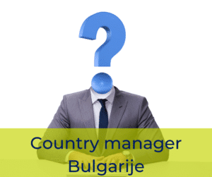 Country manager Bulgarije