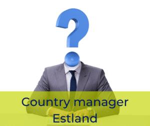 Country manager Estland